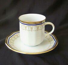 Vintage Tirschenreuth Germany Porcelain Demitasse Cup & Saucer # Tir 138