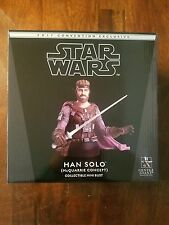 Star Wars Gentle Giant Ralph Mcquarrie Han Solo Mini Bust / Celebration Excl.