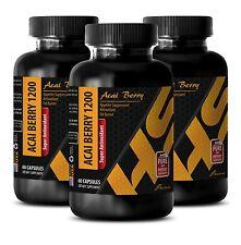 Antioxidant formula - SUPER ANTIOXIDANT ACAI BERRY 1200 Burning Calories 3 Bot