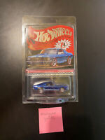 2020 Hot Wheels RLC Custom Mustang Blue with Protector - SAME DAY SHIPPING!!!