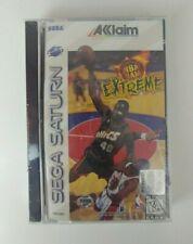 NBA Jam Extreme Sega Saturn CD Video Game Factory Sealed Tested!