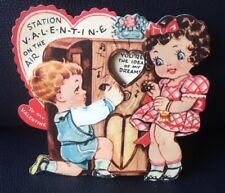 "Original ""Jointed"" Vintage Valentine Card 1920/30 Era"