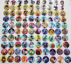 MEXICO - TAZOS ( POGS ) - DRAGON BALL SUPER & XFERAS - 2019 - 108 DIFFERENTS