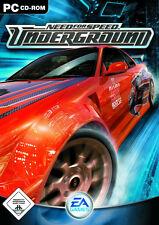 Need For Speed Underground - PC Spiel EA Games Autorennen NfS Deutsche Version