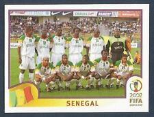 PANINI KOREA/JAPAN WORLD CUP 2002- #043-SENEGAL TEAM PHOTO