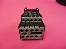 SIEMENS CONTROL RELAY 3TH2244-0BB4 10A A AMP 24V COIL 240V VOLT 3TH22440BB4