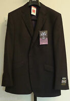 Mens M&S Sartorial Alfred Brown Size 42 Long Pure Wool Suit Jacket Bnwt
