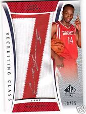 07-08 SP Authentic Carl Landry Auto RC Patch #d 59/75