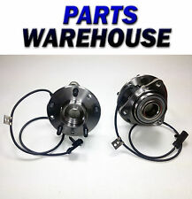 2 New Front Left & Right Chevy Gmc Olds Wheel Hub And Bearing Assembly Pair 4WD