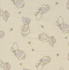 Fat trimestre Sunbonnet Sue quilting Tissu coton - 50 cm x 55 cm-Beige