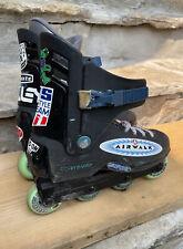 Vintage Men's Rollerblade TRS Lightning Inline Skates Size 10 (1 Liner Missing)