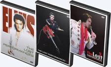 Elvis: The Lost Performances 1, 2 and 3 DVDs (Elvis Presley)