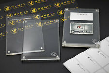 NUMIS 1 One Magnetic Stamp Holders Case Slab Acrylic, 8mm, Fits Numis Album