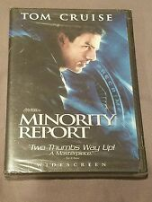 Minority Report NEW SEALED (DVD, 2002, 2-Disc Set, Widescreen)