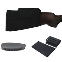 Tourbon Hunting Comb Raiser Cheek Rest Kit Gun Stock Slip-on Cover + Recoils Pad