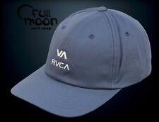 d19e09e1 New RVCA Santiago Sport Cap Blue Dad Mens Strapback Hat