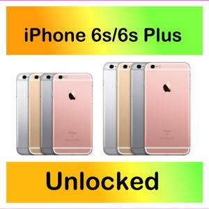 Apple iPhone 6s/6s Plus 16GB 32GB 128GB Unlocked Verizon Jump Cricket Clean IME
