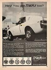 Foresight Ventures Track Custom Wheels Mags Cars Photo 1968 Vtg Magazine Ad