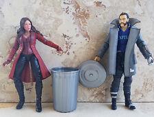 "GARBAGE TRASH CAN 5-6""Marvel Legends DC Multiverse ACCESSSORY custom 1/12diorama"