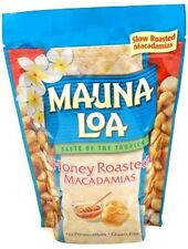 HONEY ROASTED MAUNA LOA MACADAMIA NUTS 10 OZ BAG
