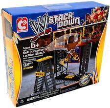 C3 Construction WWE Stack Down Kofi Kingston Ladder Match Set NIB 92 Pcs WWF