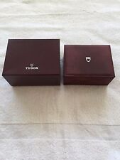 100% ORIGINAL TUDOR INNER & OUTER WATCH BOX ONLY REF: 96.00.04