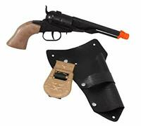 Tombstone Toy Cap Gun Pistol Revolver And Holster New Free Shipping Parris Mfg