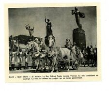 """1953 / Robert Taylor incarne Vinivius dans """"Quo Vadis"""" / documentaire"""