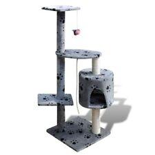 Cat Tree 114 Pet Scratcher Post Poles House Gym Condo Furniture Scratching Grey