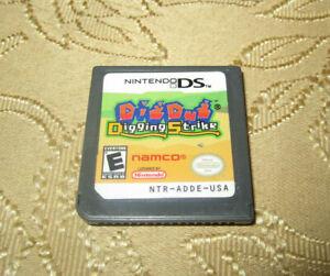 Dig Dug Digging Strike Nintendo DS 3DS 2005 Game Only Works Great Ships Fast
