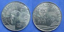 PORTUGAL 200 Escudos Gedenkmünzen 1991 KM#658  COLUMBUS AND PORTUGAL