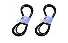 """2 Pack Deck Belt for John Deere TCU31132 Z915B Z920M Z925M EFI Z920R Z930R 54"""""""