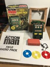 Action Man VAM Palitoy Field Radio Pack Double Face Rouge Record Disc c1974-76
