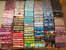 Fat Quarter bundle lot of (15) new Floral Prints quilting 100% cotton