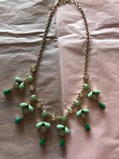 Ann Taylor Beaded And Rhinestone Necklace 20""