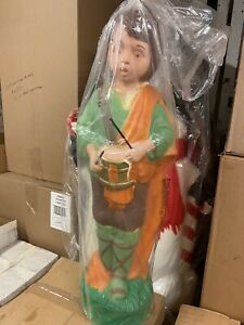 Drummer Boy Blow Mold Christmas