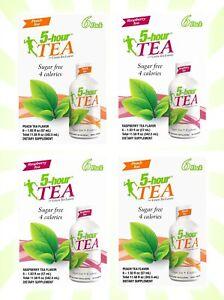 5-hour ENERGY Peach Tea & Raspberry Tea 24 Energy Shots Total EXP 10/21+