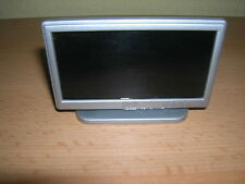 """LCD Television Flat Screen/Silver 42 """" Widescreen TV Dollhouse 1:12 D1164"""