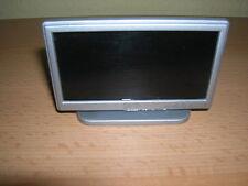 """LCD Fernseher Flachbildschirm / Silver 42"""" Widescreen TV Puppenstube 1:12 D1164"""