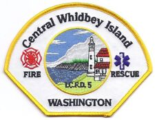 **CENTRAL WHIDBEY ISLAND WASHINGTON FIRE DEPARTMENT FIRE RESCUE PATCH**