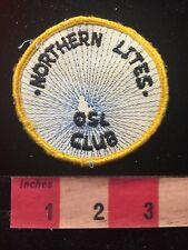 Vintage SOUTHERN LIGHTS QSL CLUB Amateur Radio Patch 81D2