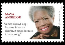 2015 49c Dr. Maya Angelou, Champion of Civil Rights Scott 4979 Mint F/VF NH