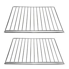 2 x Quality Iron Wire Cooker Oven Grill Shelf Rack For B&Q Cookers 33 x 42cm