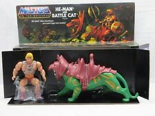 MOTU,Commemorative HE-MAN & BATTLE CAT,MINT,MIB,Masters of the Universe,He-Man