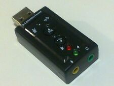 USB: Generic Sound Adapter with buttons (black)