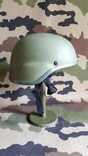 Un casque kaki Airsoft Pintball Militaria.