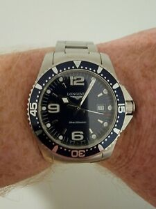 Longines HydroConquest Blue Men's Watch - Quartz