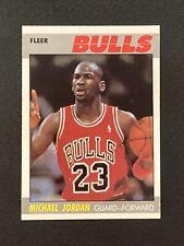 1987-88 Fleer Michael Jordan #59 2nd Year Bulls Well Centered