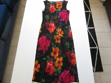 Women's COOPER ST Sz L Sheer Maxi Over-Dress Floral Near New | 3+ Extra 10% Off