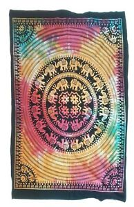 Mandala Tapestry Indian Wall Hanging Hippie Poster Bedspread Throw Home Decor